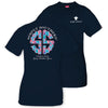 Simply Southern Tees Preppy Logo T-Shirt - Tried & True - Color Navy