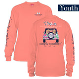 Youth Simply Southern Tees Long Sleeve T-Shirt - Let's Be Besties - Jeep & Dog