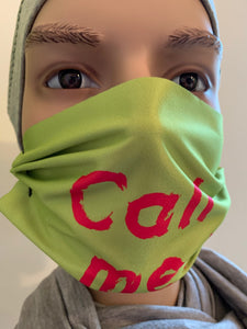 "Gesichtsmaske - FUN ""Call me"""
