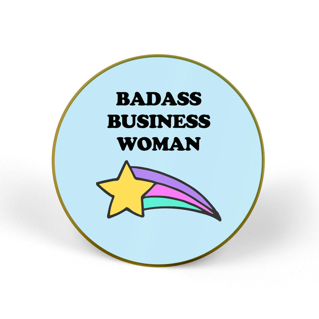 BADASS BUSINESS WOMAN Pin