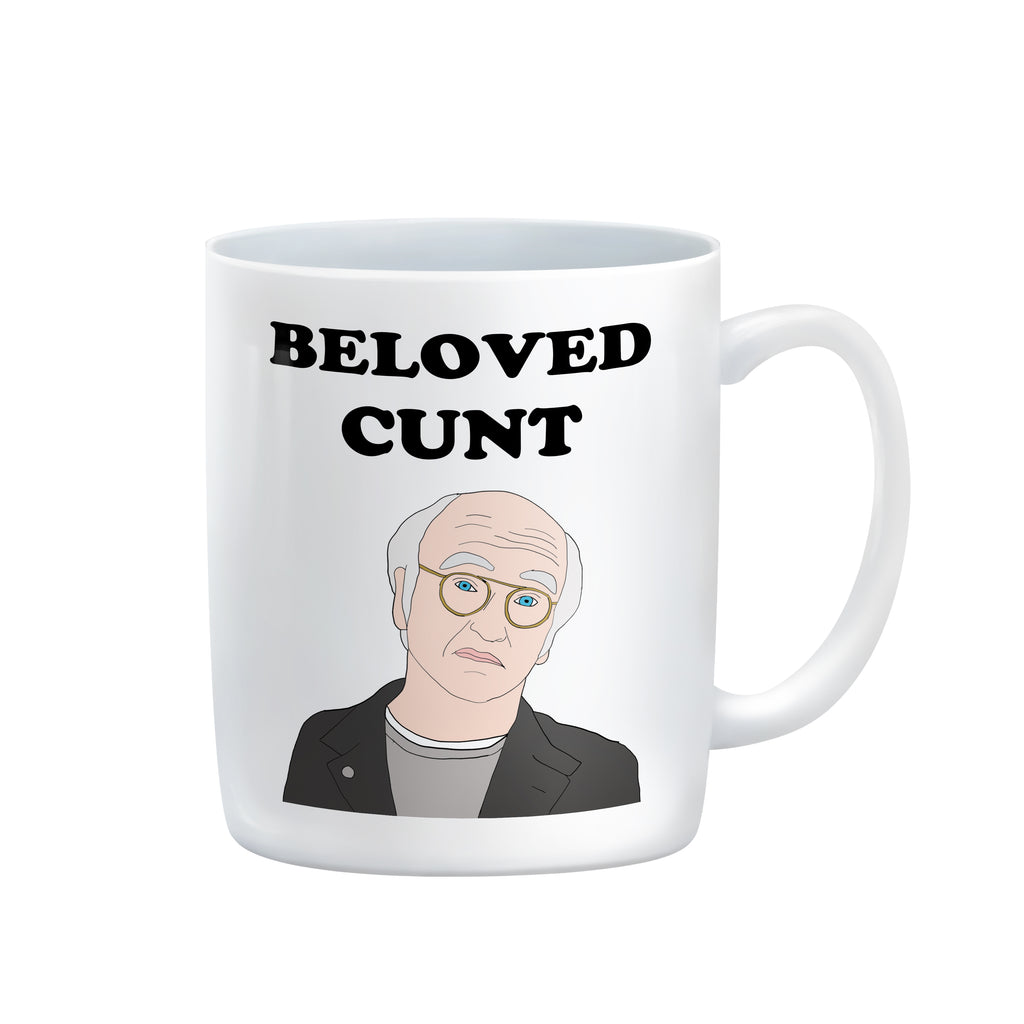 BELOVED CUNT Larry David Mug