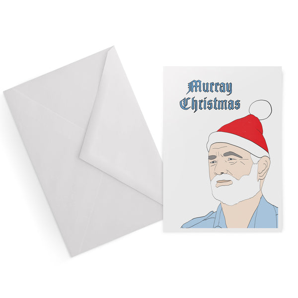 BILL MURRAY murray christmas WES ANDERSON life aquatic STEVE ZISSOU christmas card from LA LA LAND
