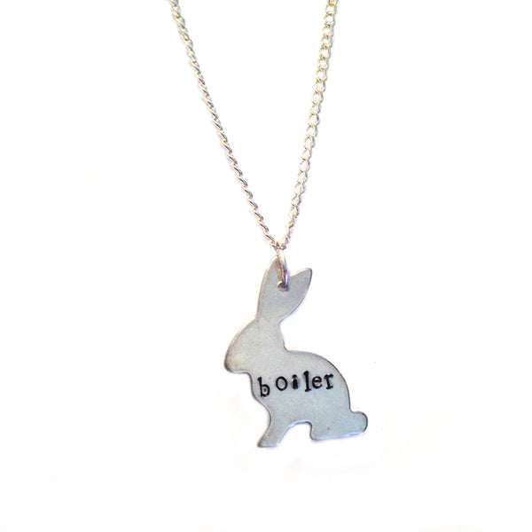 Custom Hand Stamped Necklace {lots of pendants to choose from}