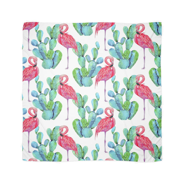 CACTUS FLAMINGO chiffon scarf from LA LA LAND