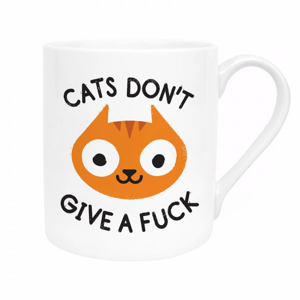 CATS DON'T GIVE A FUCK Mug