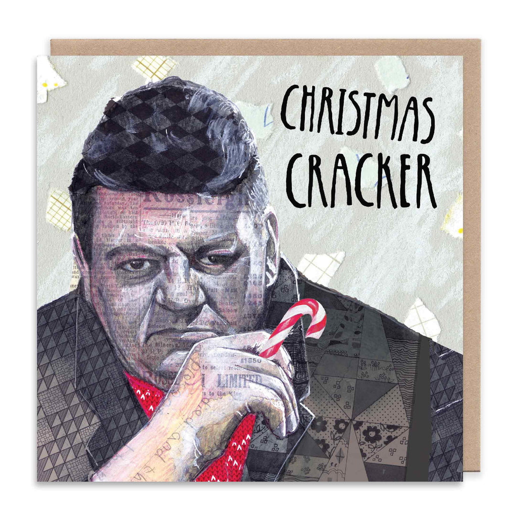 CHRISTMAS CRACKER Christmas Greetings Card