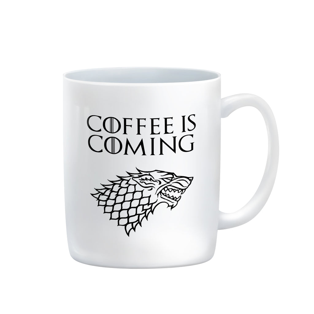 COFFEE IS COMING Mug