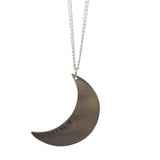 CUSTOM CRESCENT MOON Necklace