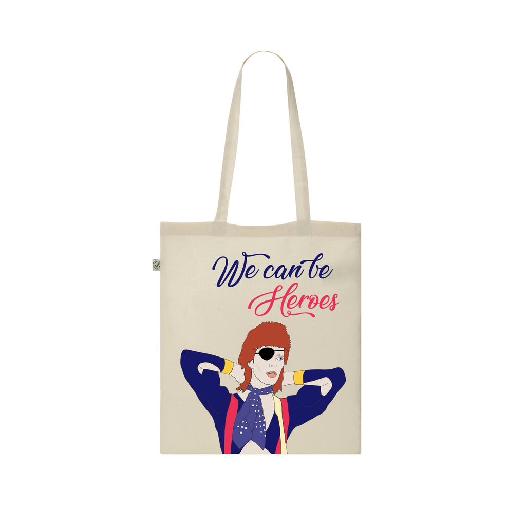 WE CAN BE HEROES Tote Bag