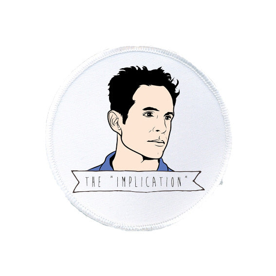 DENNIS REYNOLDS it's always funny in philadelphia THE IMPLICATION patch from LA LA LAND