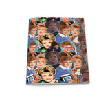 DONT MESS WITH JESS Jessica Fletcher Murder she Wrote collage notebook from LA LA LAND