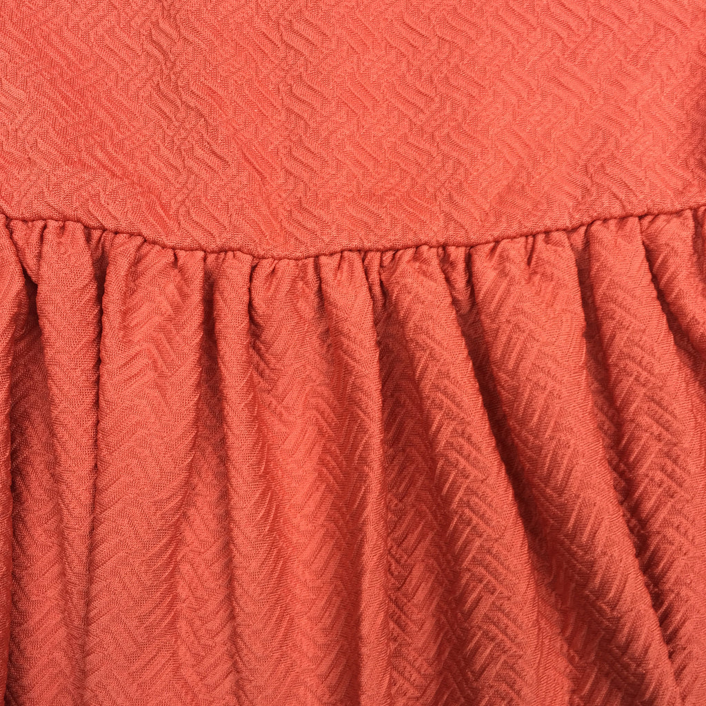 candy coral drop waist skirt by Pepa Loves from LA LA LAND £30