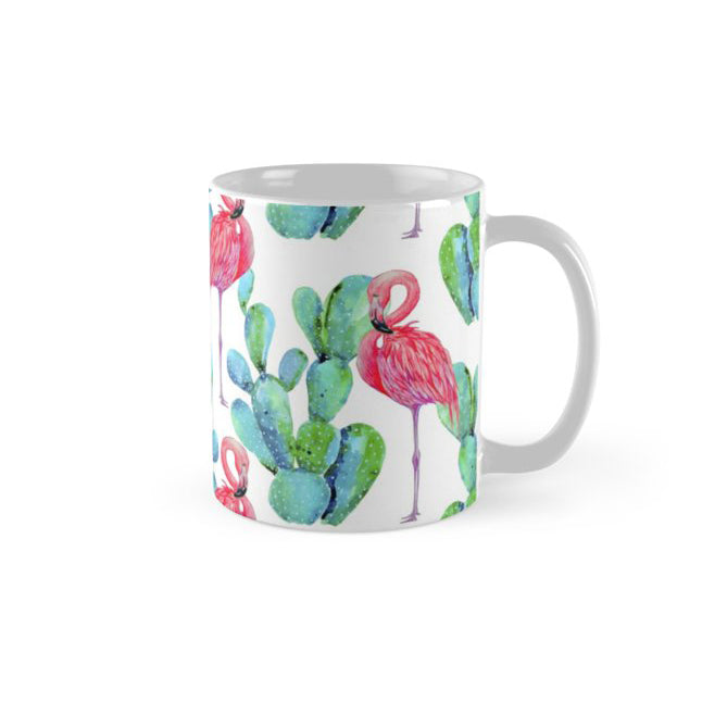 FLAMINGO CACTI MUG FROM la la land
