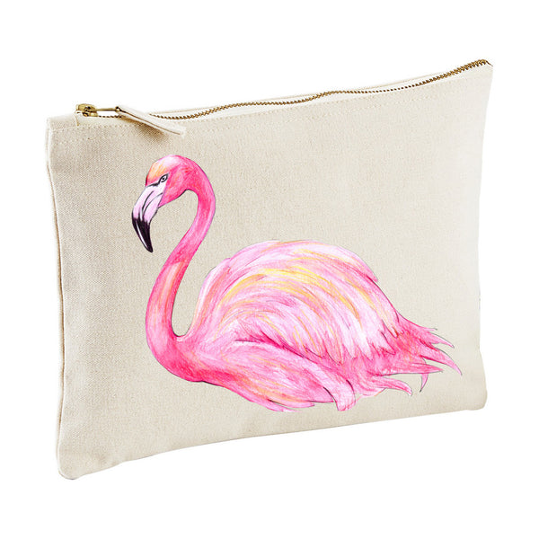 FLAMINGO clutch zippy pouch from LA LA LAND