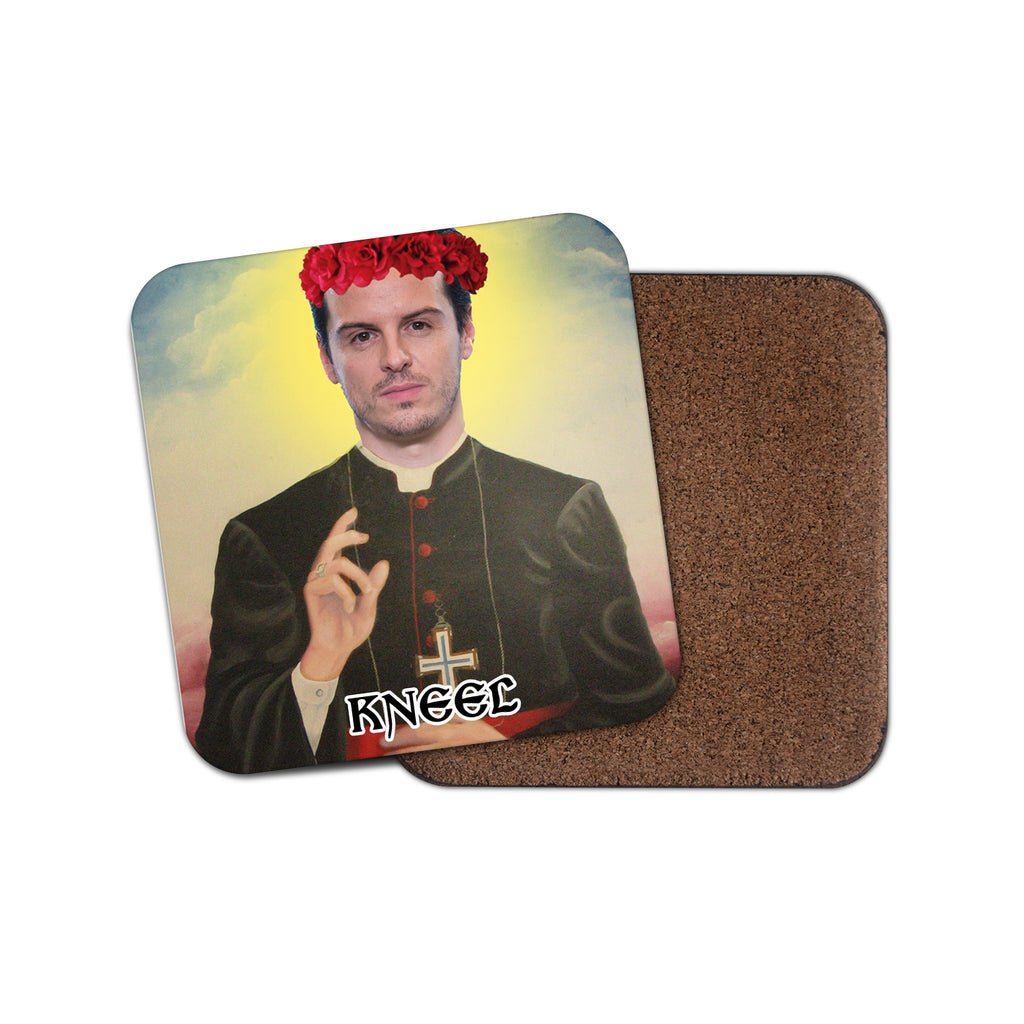 HOT PRIEST coaster