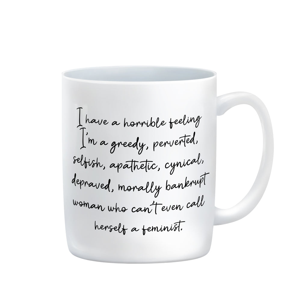 MORALLY BANKRUPT Mug