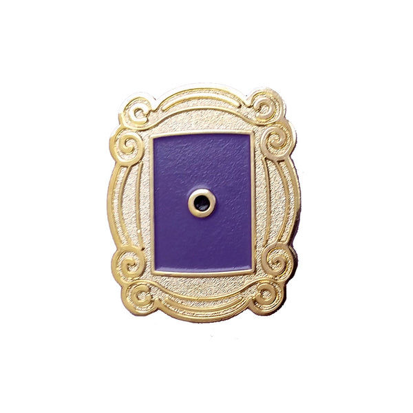 FRIENDS frame door peephole ENAMEL PIN by Goellnerd from LA LA LAND