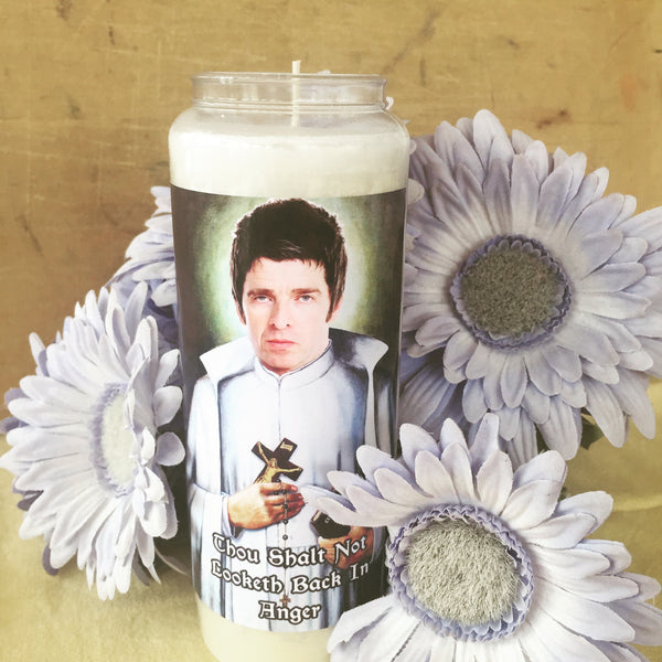 SAINT NOEL GALLAGHER Prayer Candle