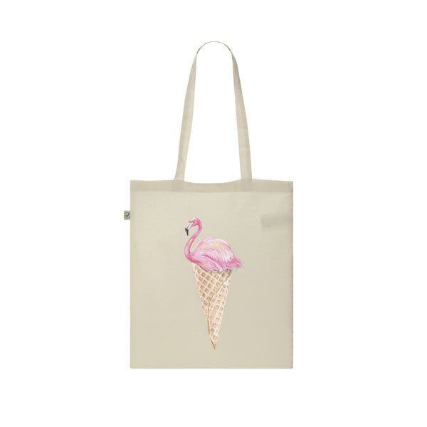 Flamingo ice cream TOTE BAG from LA LA LAND