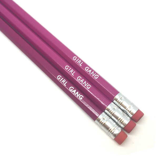 GIRL GANG Pencil Set