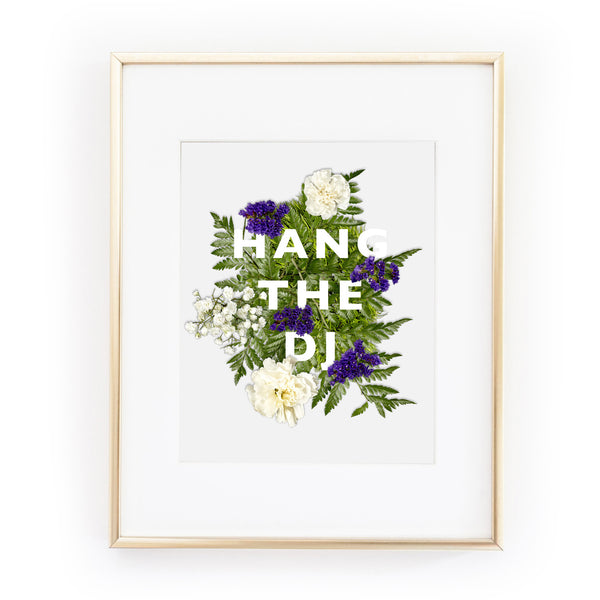 HANG THE DJ morrissey the smiths A4 art print from LA LA LAND