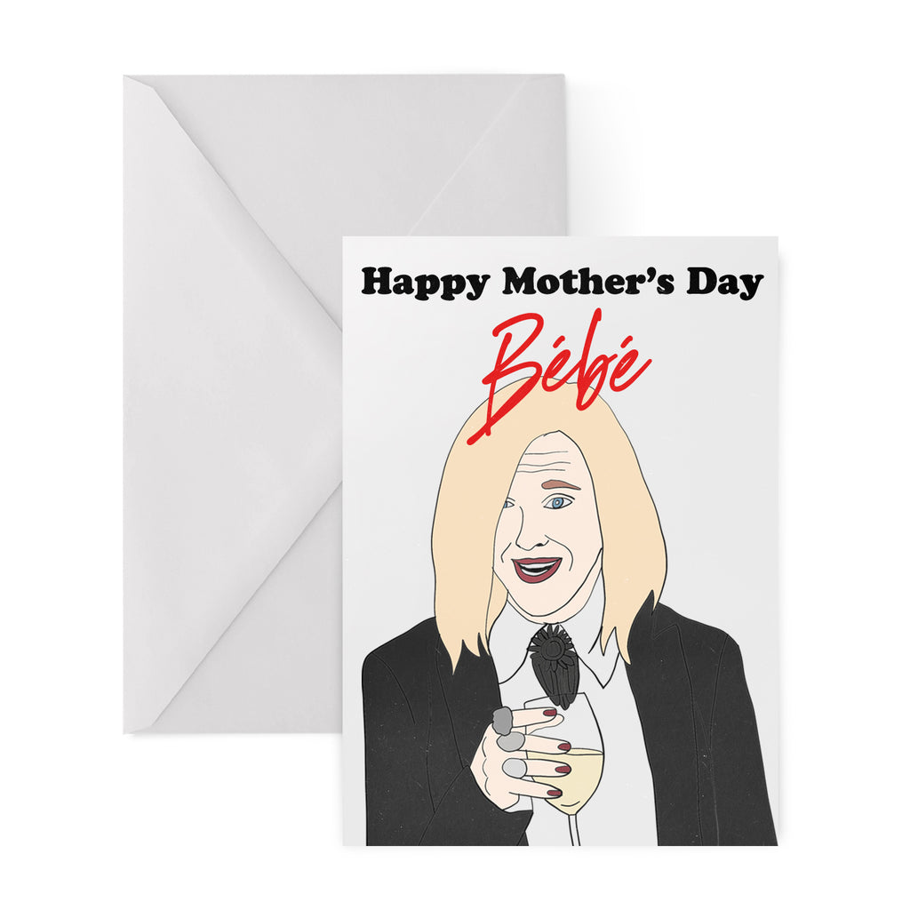 HAPPY MOTHER'S DAY BEBE Greetings Card