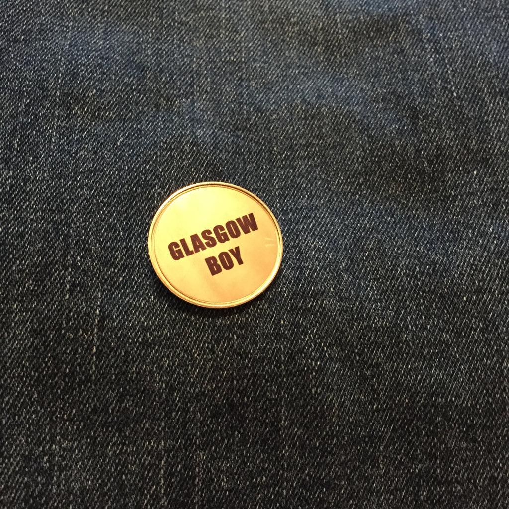 CUSTOM SLOGAN Pin