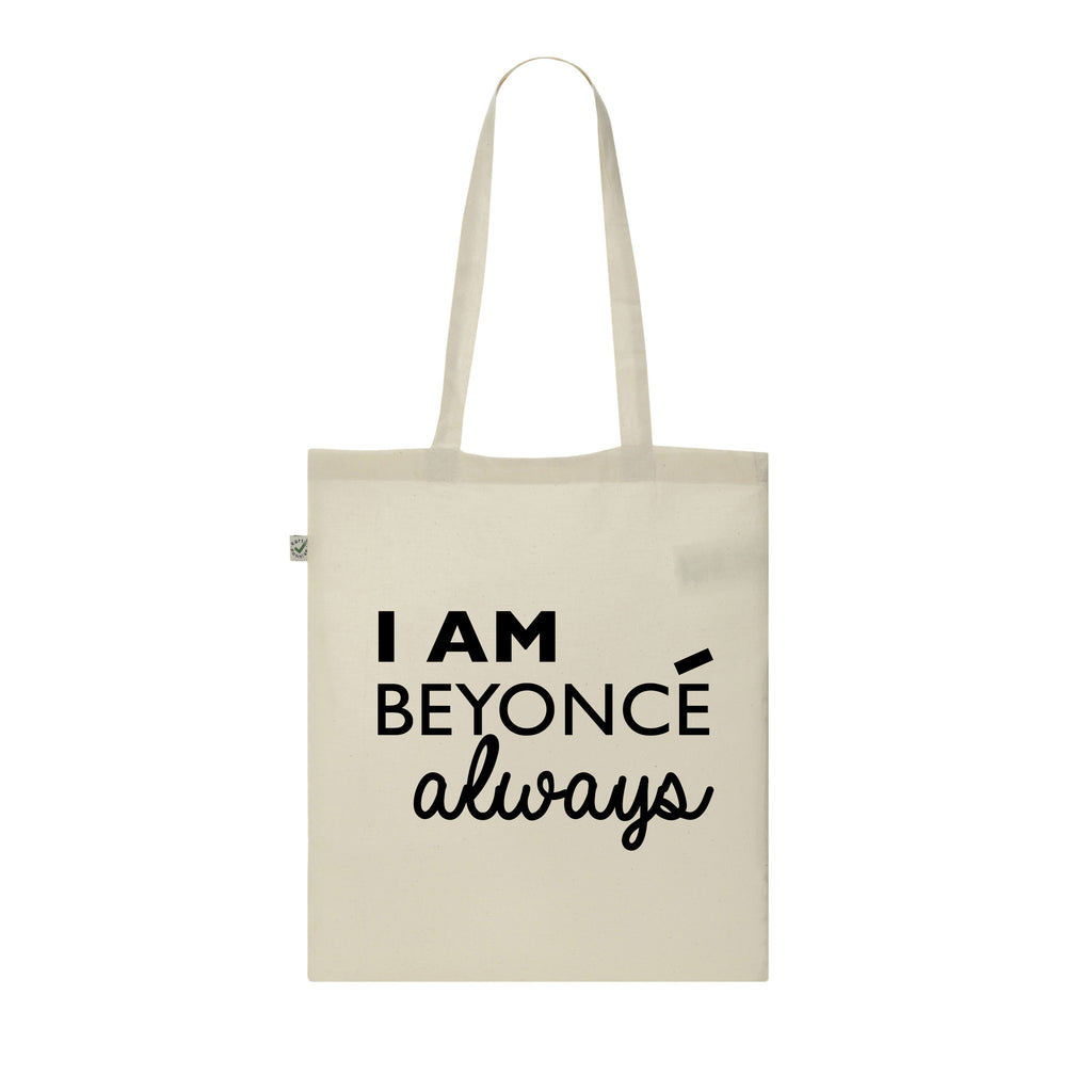 I AM BEYONCE ALWAYS tote bag THE OFFICE michael scott DUNDER MIFFLIN tote bag from LA LA LAND
