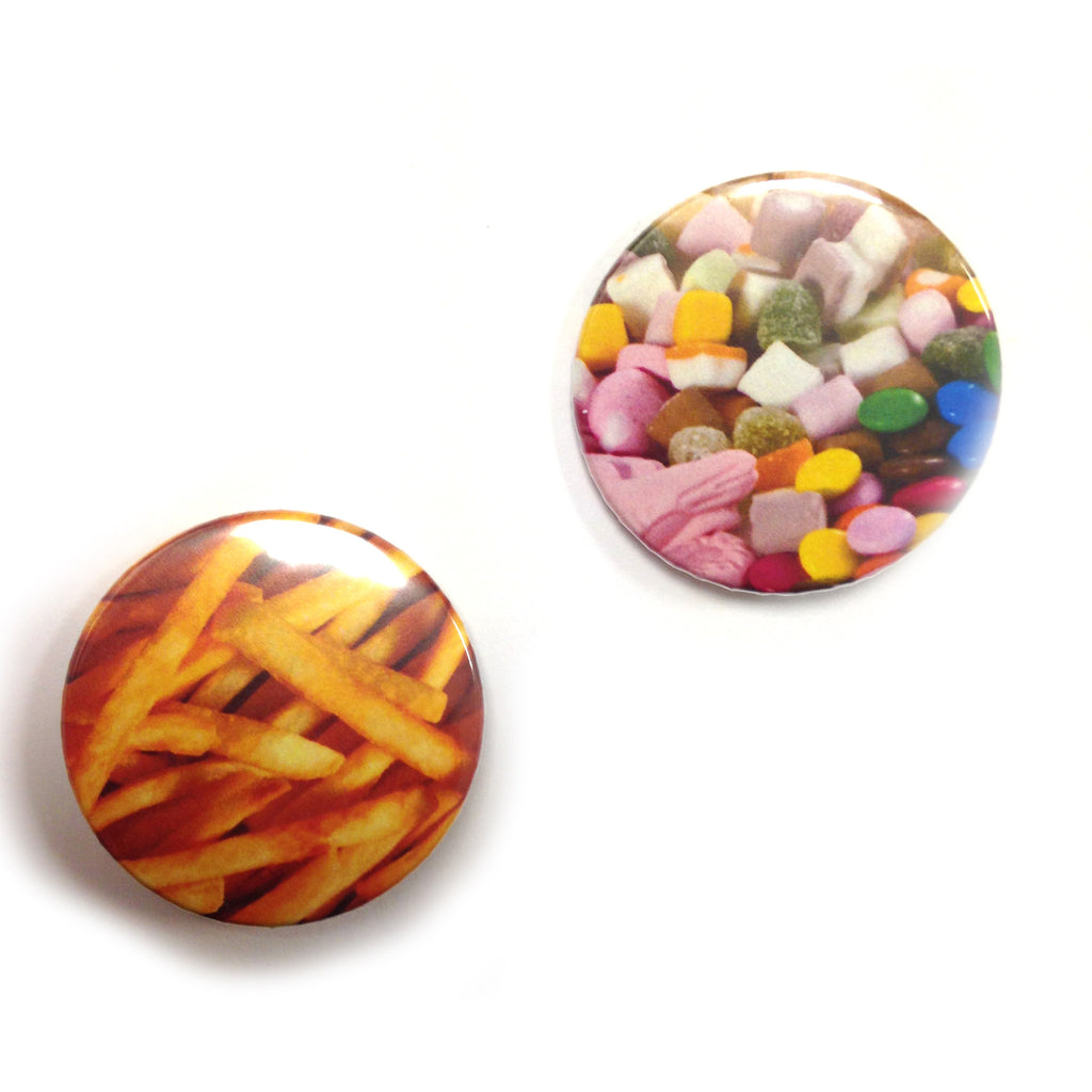 Junk Food Badge Pack by LA LA LAND