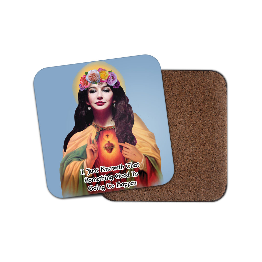 SAINT KATE BUSH coaster