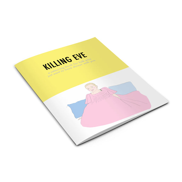 KILLING EVE Colouring Book