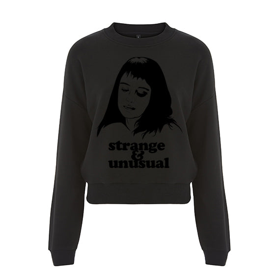 STRANGE & UNUSUAL Crop Sweater