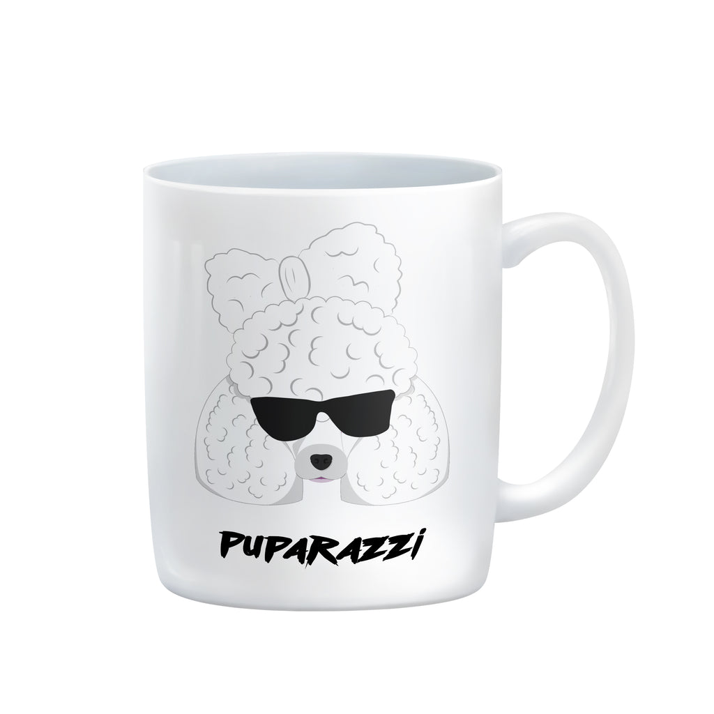 Lady Ga Ga Mug poodle dog puppy PUPA PUPARAZZI by Rogue Tigers good boy division from LA LA LAND