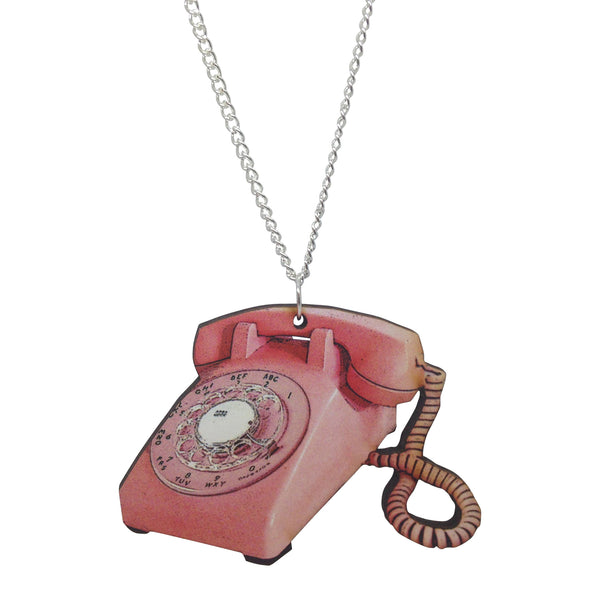 HANGING ON THE TELEPHONE Necklace