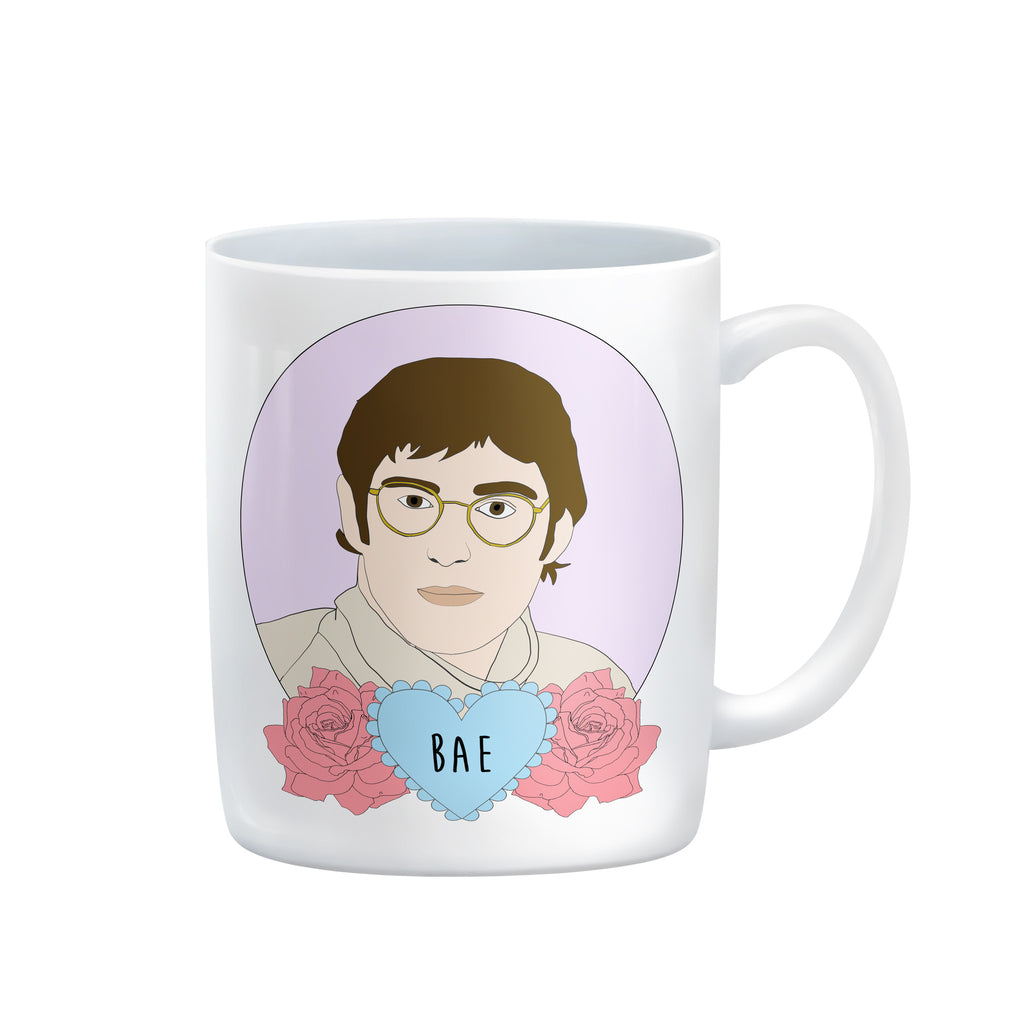 Louis Theroux mug from LA LA LAND