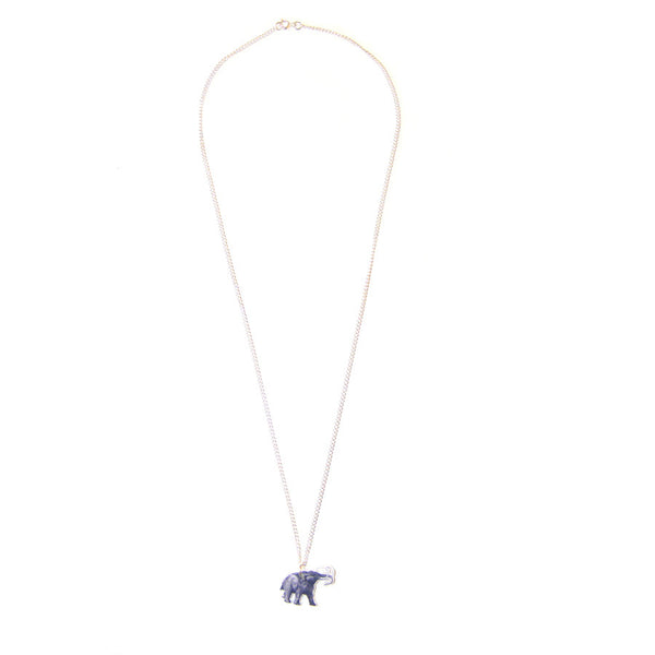 Printed Acrylic Mammoth Necklace