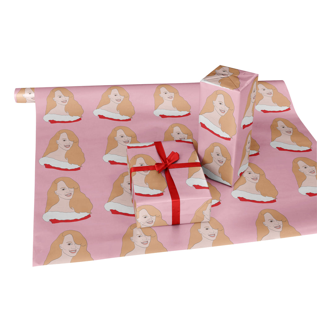 MARIAH CAREY Christmas Wrapping Paper