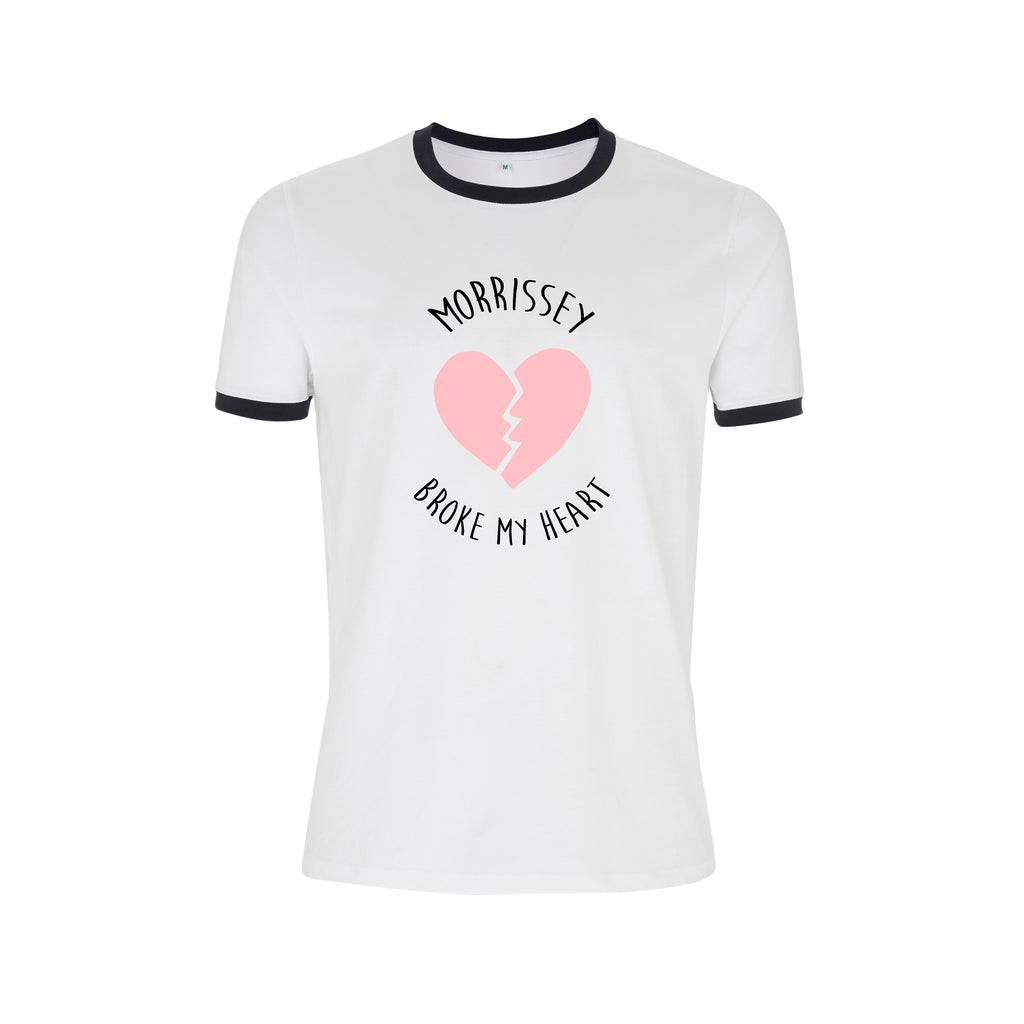 MORRISSEY BROKE MY HEART the smiths RINGER TEE from LA LA LAND