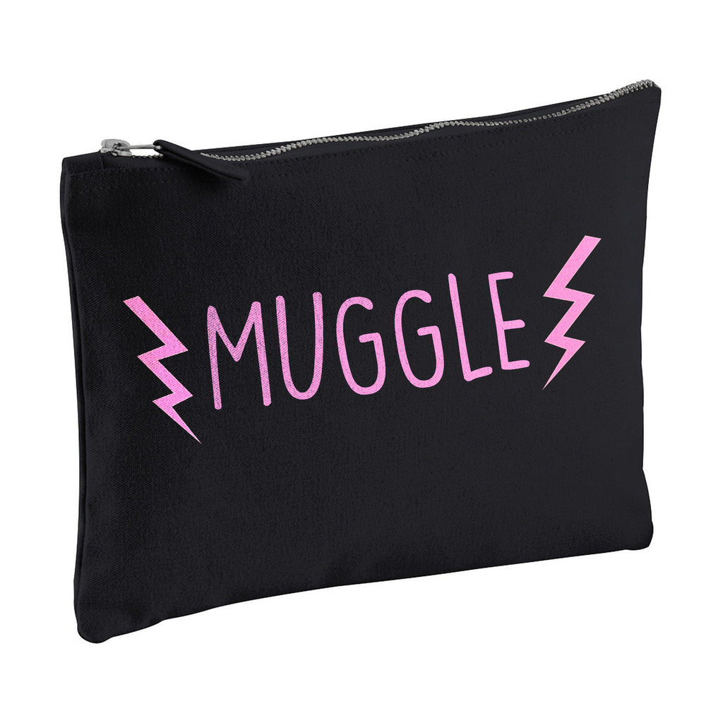 MUGGLE harry potter canvas clutch zipper pouch bag from LA LA LAND