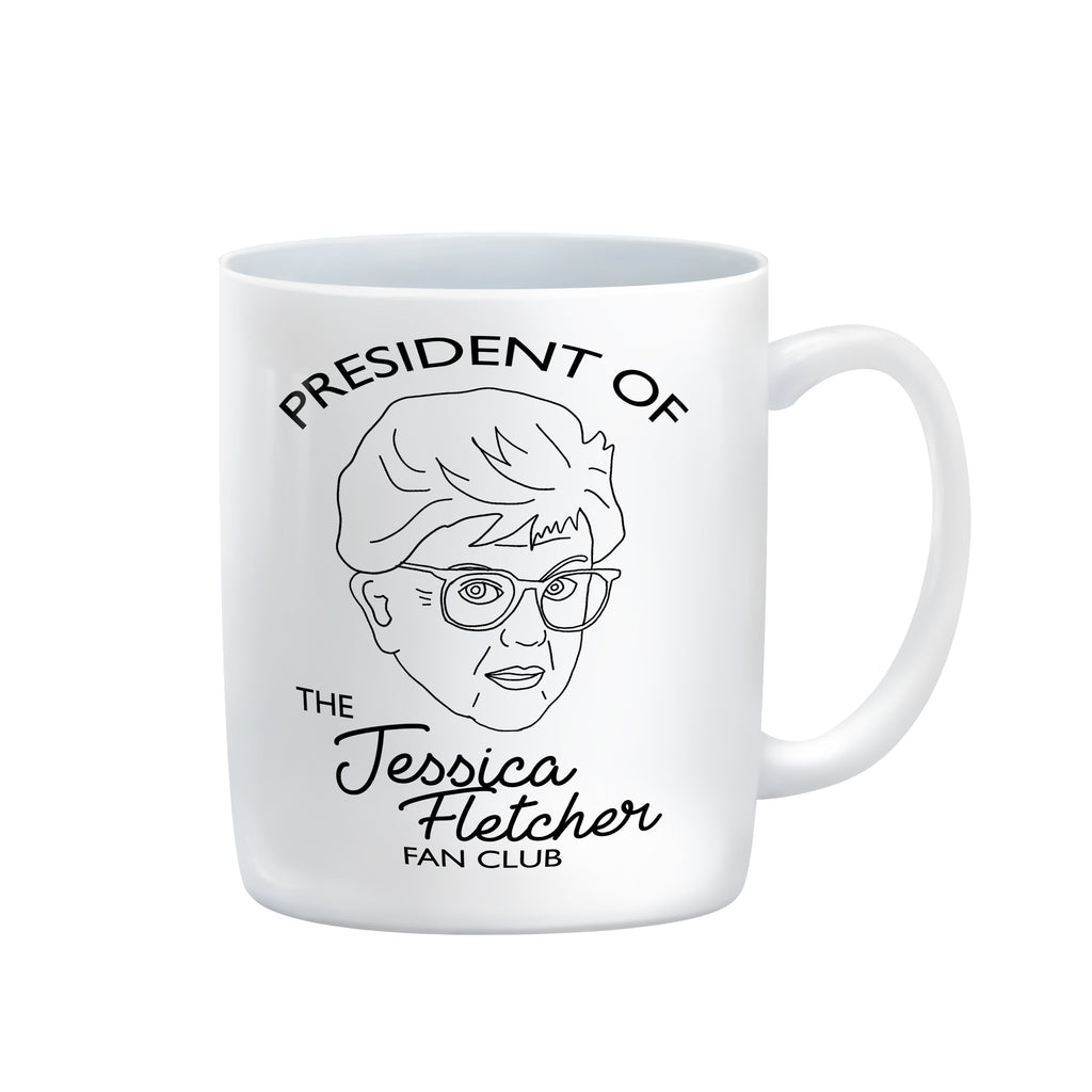 MURDER SHE WROTE jessica fletcher fan club mug from LA LA LAND