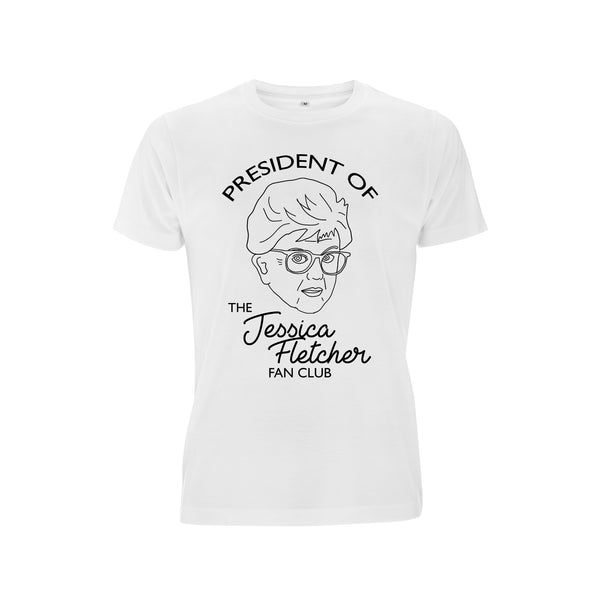 MURDER SHE WROTE jessica fletcher fan club tee from LA LA LAND
