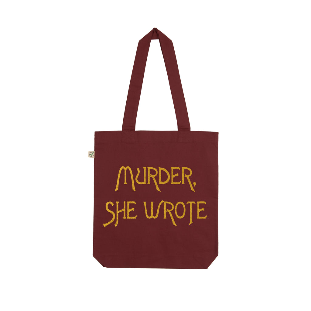 MURDER SHE WROTE tote bag from LA LA LAND