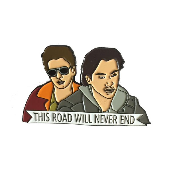 MY OWN PRIVATE ADAHO river phoenix keanu reeves ENAMEL PIN from LA LA LAND