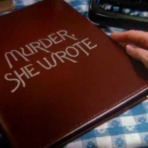 MURDER, SHE WROTE Notebook