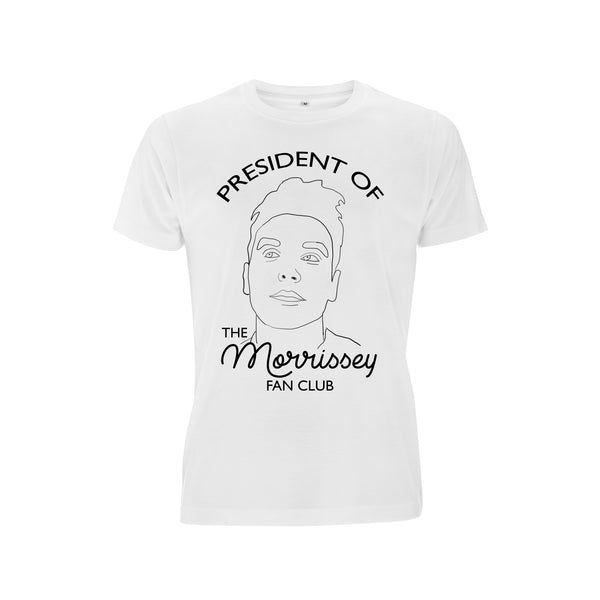 President of the Morrissey Fan Club tee t-shirt from LA LA LAND