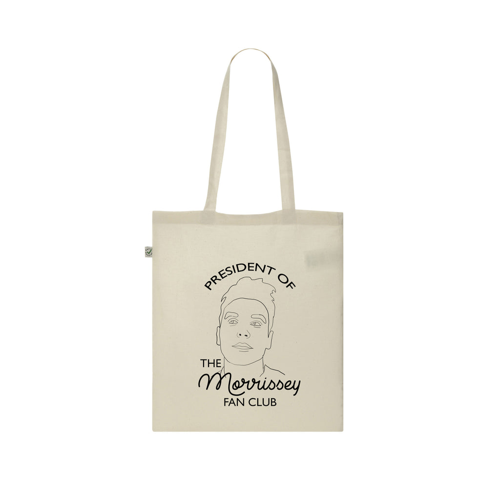 President of the Morrissey Fan Club tote bag from LA LA LAND