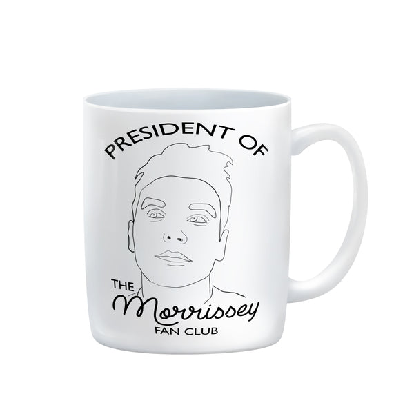 President of the morrissey fan club MUG from LA LA LAND