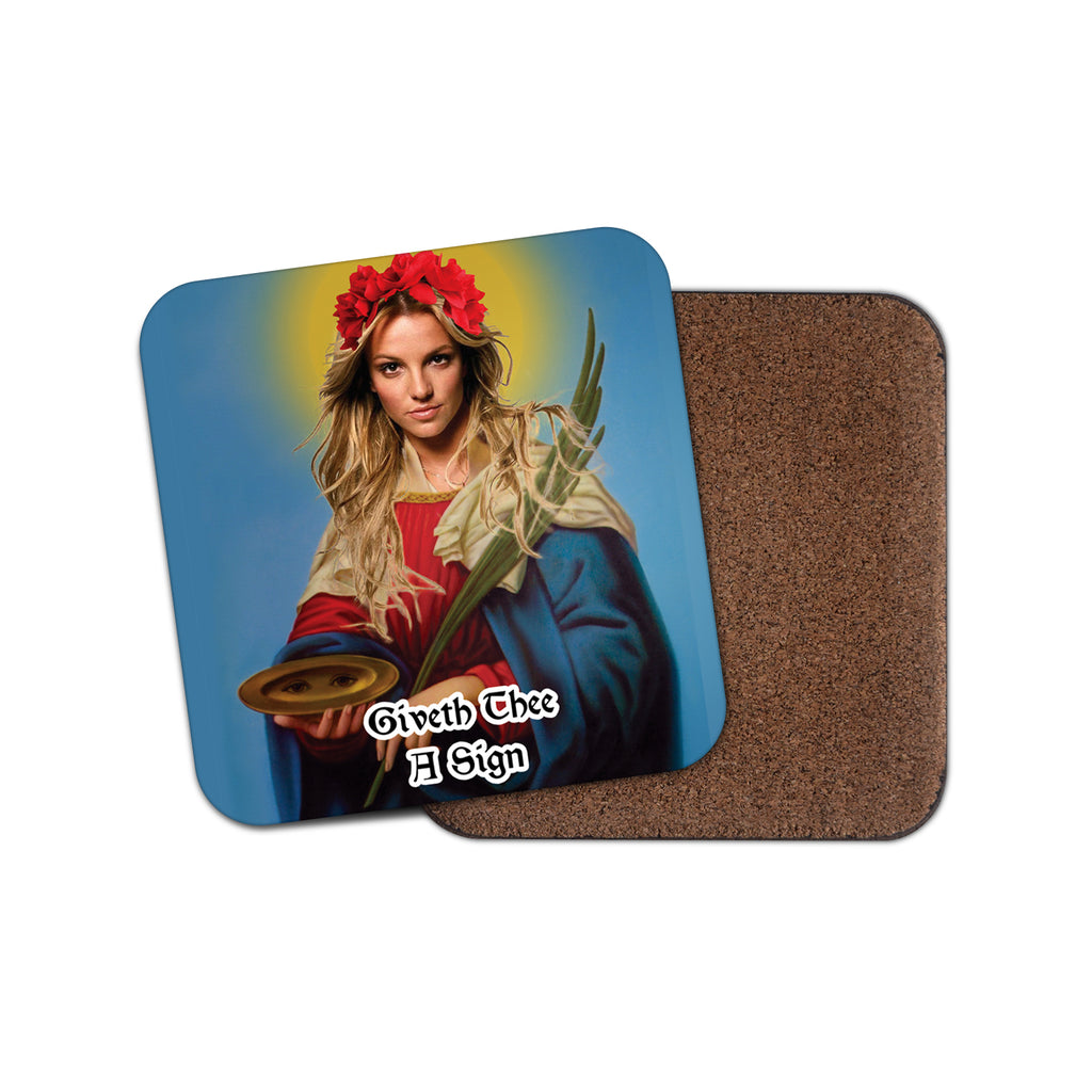 SAINT BRITNEY SPEARS coaster