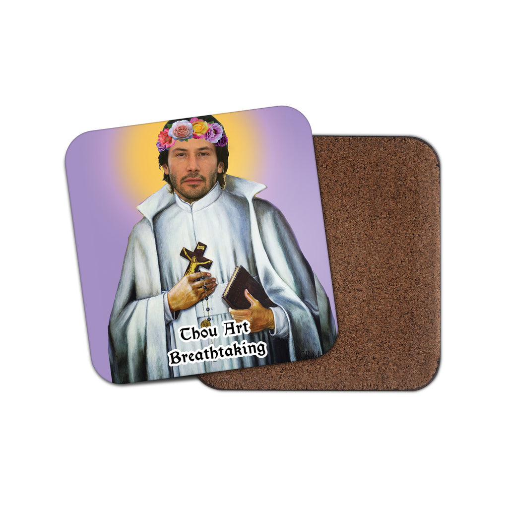 SAINT KEANU REEVES coaster