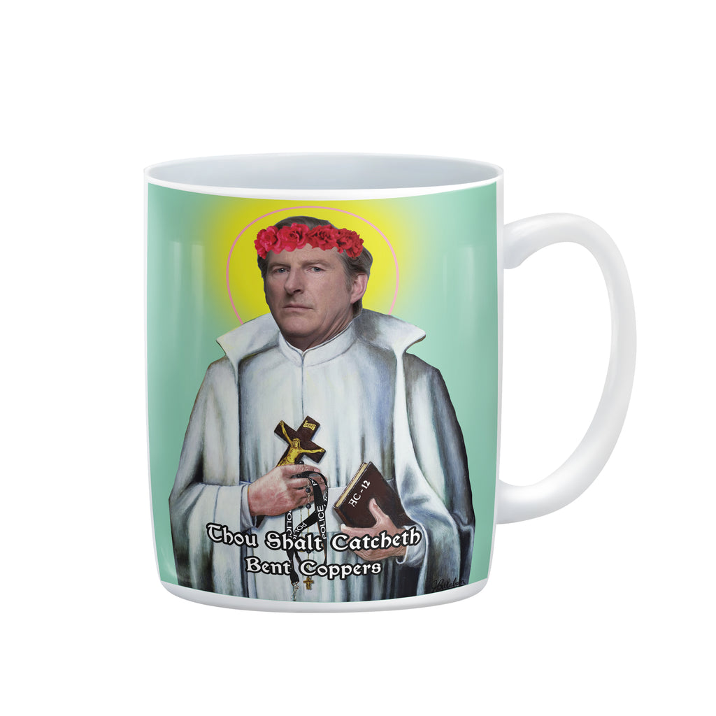 SAINT TED HASTINGS Mug